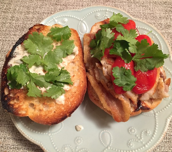 Ocean Perch Fish Sandwich