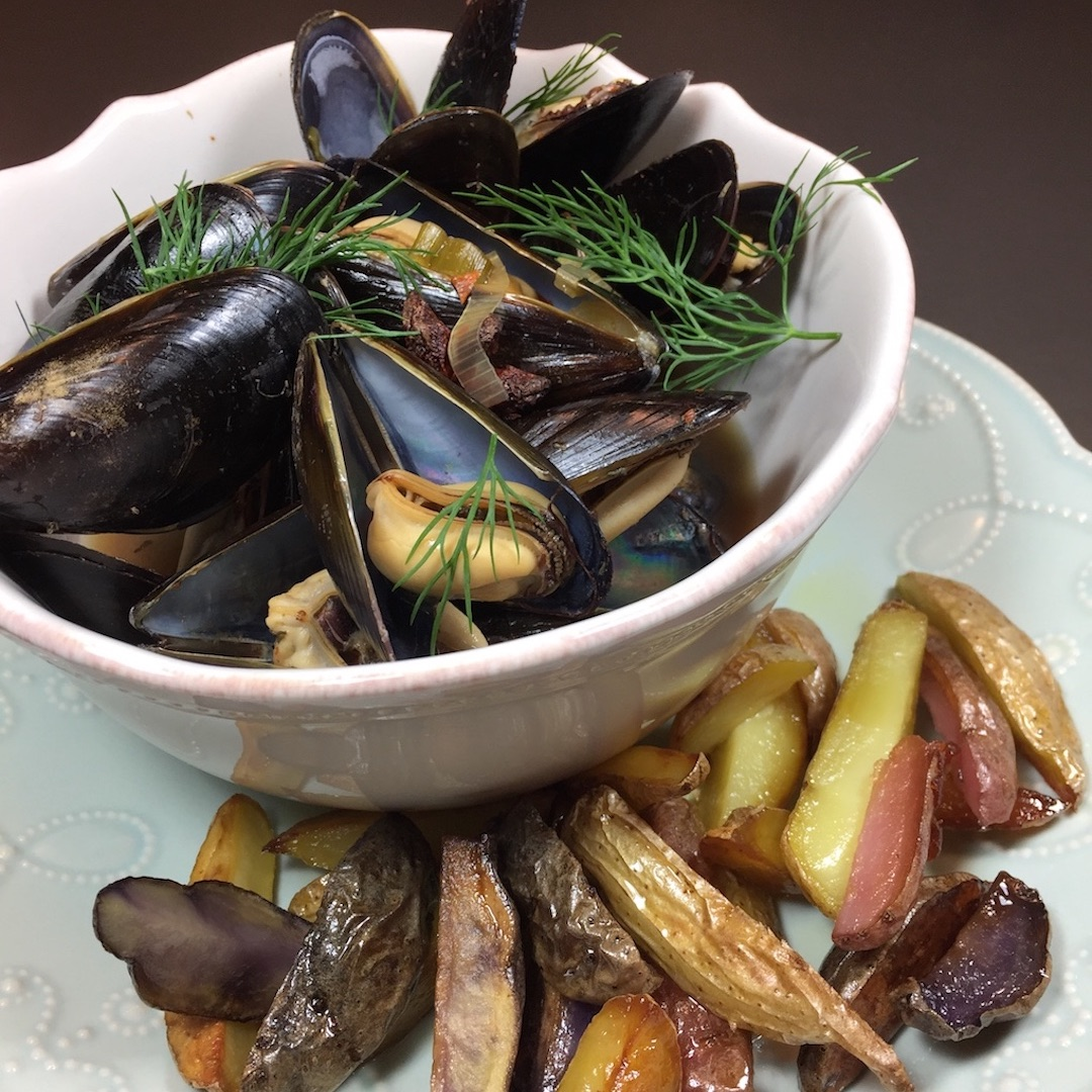 Moules Frites / Mussels & Fries