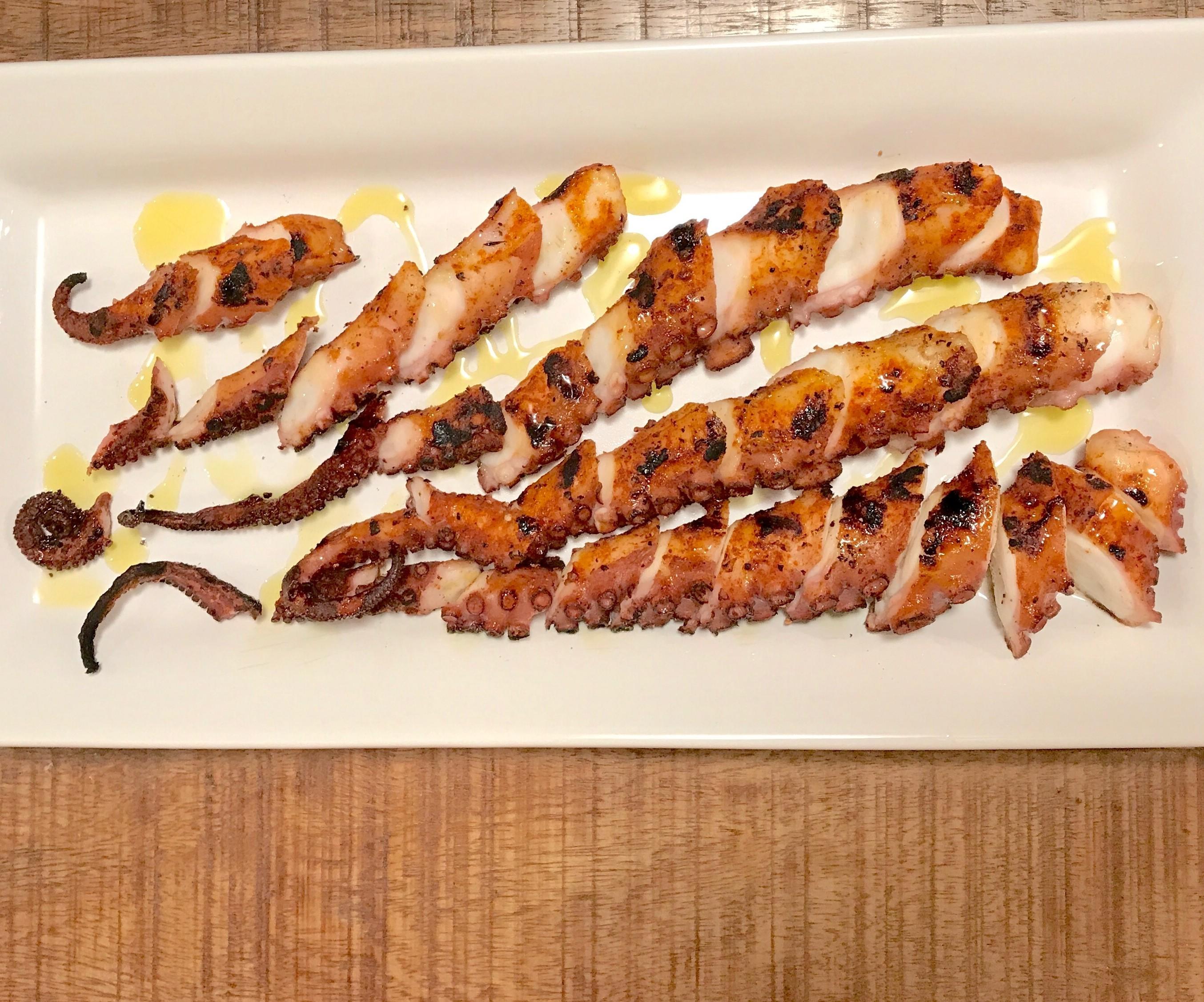 Grill Octopus Legs / Polvo Grelhado