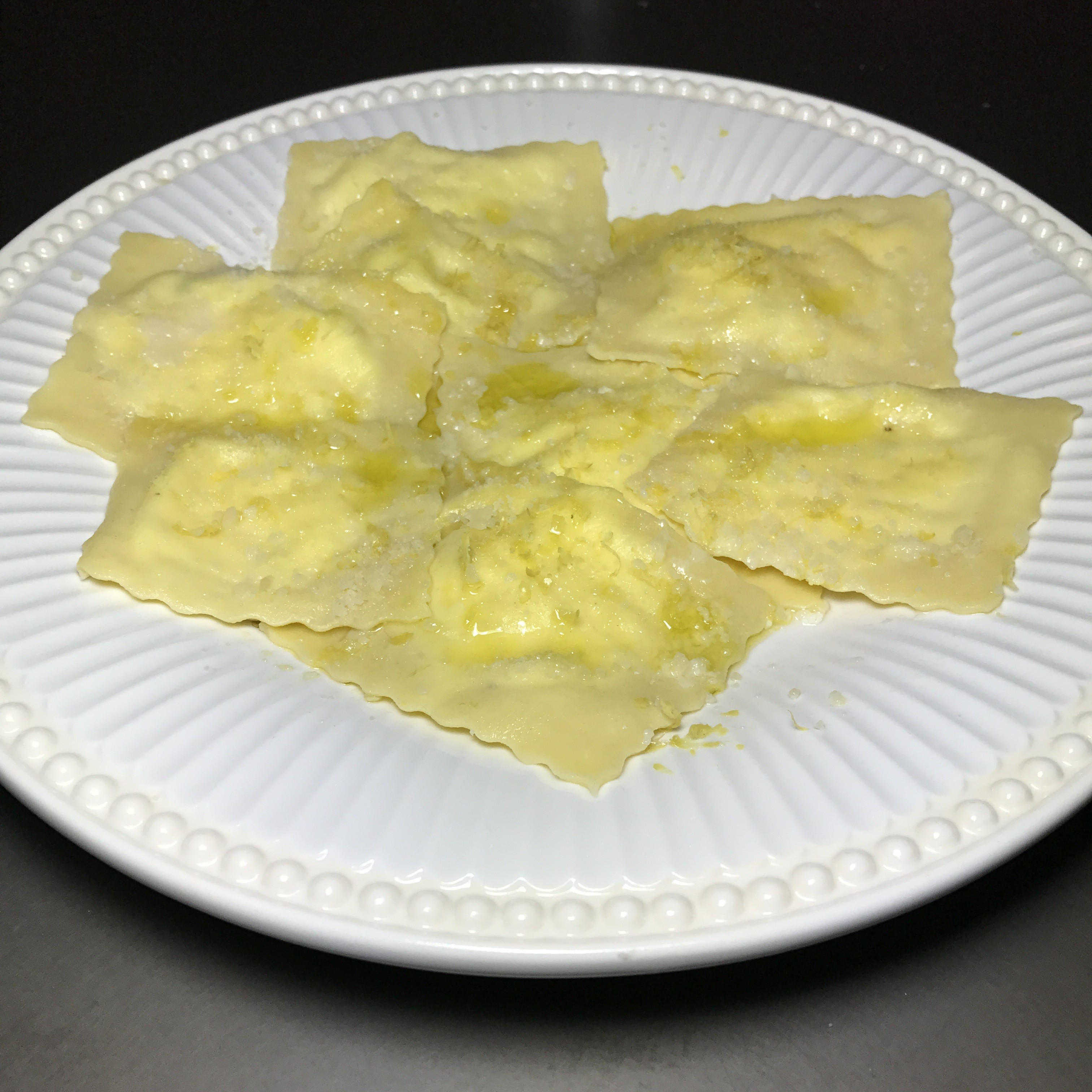 Homemade Ricotta Ravioli